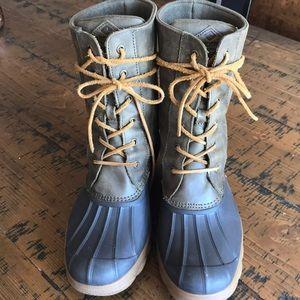 Sperry high top Duck Boots